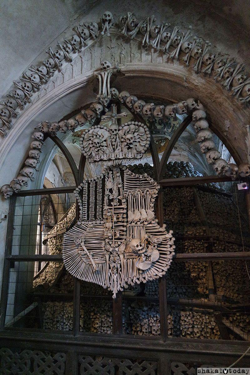 Большой фамильный костяной герб Шварценбергов