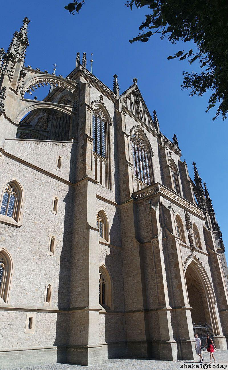 Это второй по величине и значимости готический храм Чехии