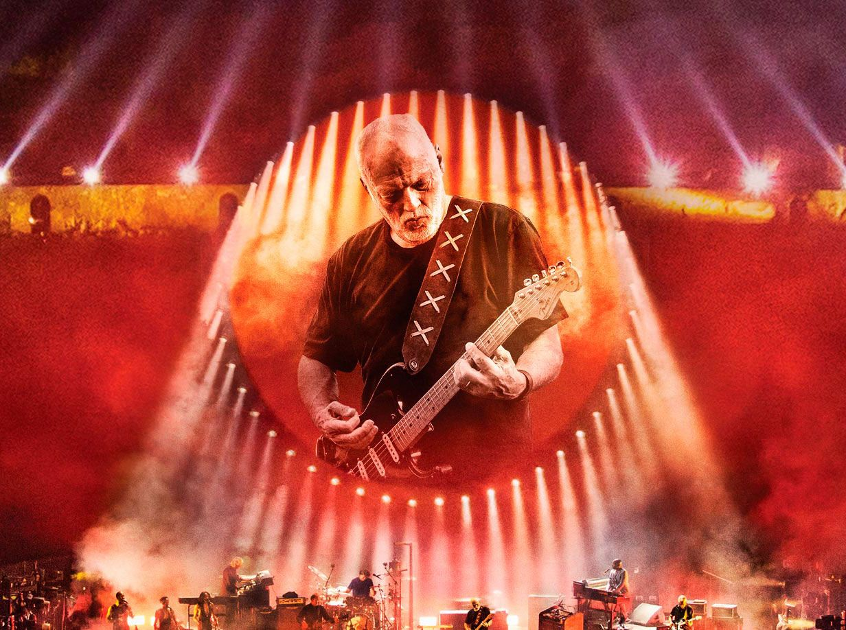 David Gilmour At Pompeii Main Intro