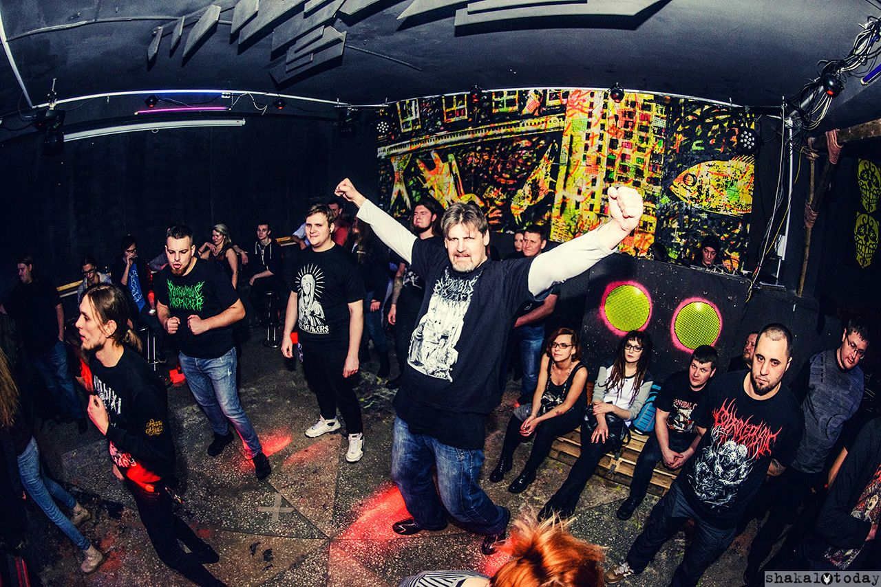 Grindcore Party Hard. Легендарный Герасим и его Му-му