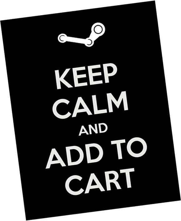 keep calm add to cart